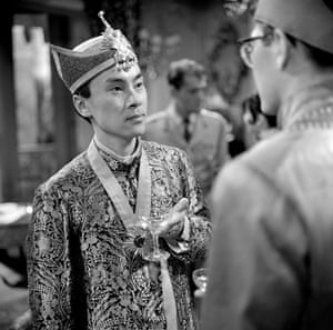 Burt Kwouk in the first series of The Avengers, 1961