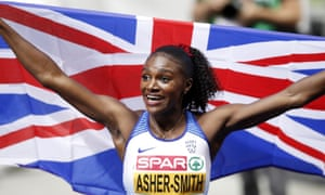Dina Asher-Smith won three gold medals at the European Championships.