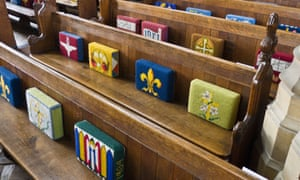 As many millennials say they never attend religious services (22%) as those who say they go at least once a week.