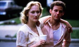 Meryl Streep and Peter MacNicol in Sophie's Choice.