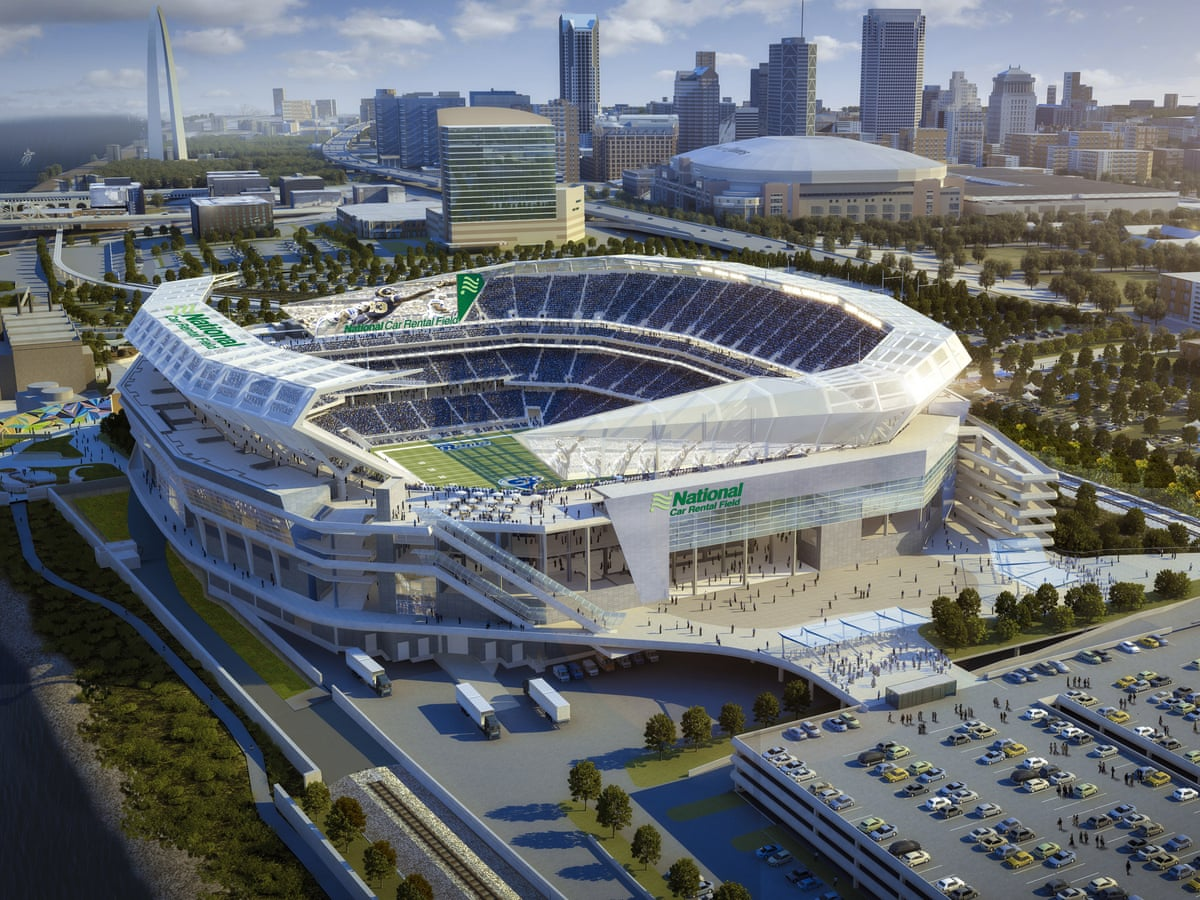 Green Light On 1bn St Louis Rams Stadium Still Fiscally Irresponsible Critics Warn Nfl The Guardian