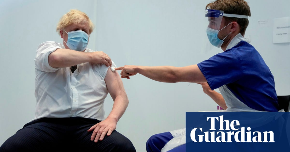 Johnson rejects Gove remark that Covid vaccine refusers are 'selfish'