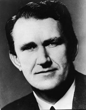 A portrait of the then Australian Defence Minister and future Liberal Party Prime Minsiter Malcolm Fraser taken in 1971, close to the time he announced the formation of ANZUK (Australia, New Zealand, United Kingdom) Force, a joint military force to protect Commonwealth interests in Malaysia and Singapore.