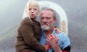 Ída Mekkín Hlynsdóttir dan Ingvar Sigurdsson dalam A White, White Day.