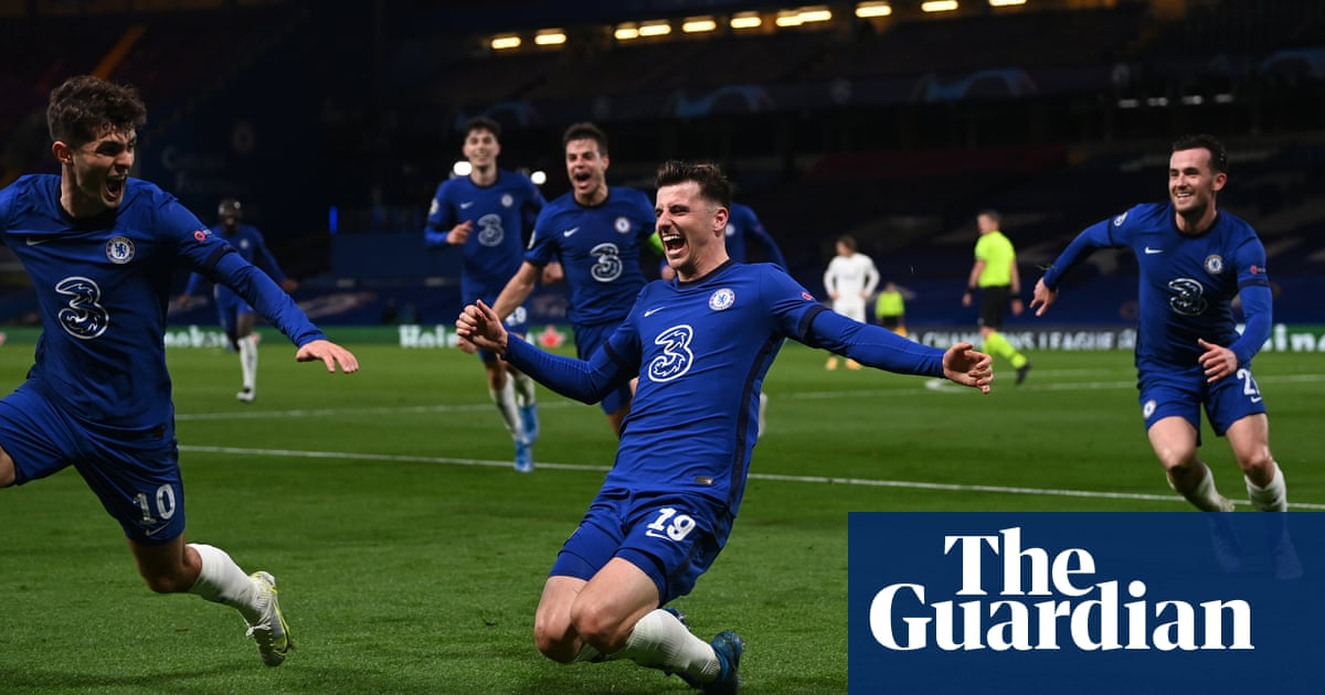 Chelsea power past Real Madrid to set up all-English Champions League final