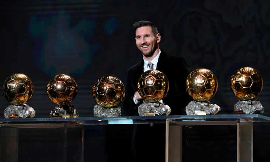 Messi was all smiles in Paris after winning a sixth Ballon d'Or in December, but even then he suggested he could not go on for ever.