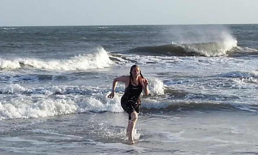 Rachel Smith, outdoor swimmer