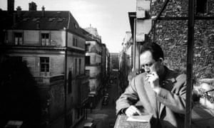 He might have the answer ... Albert Camus ponders life and everything.