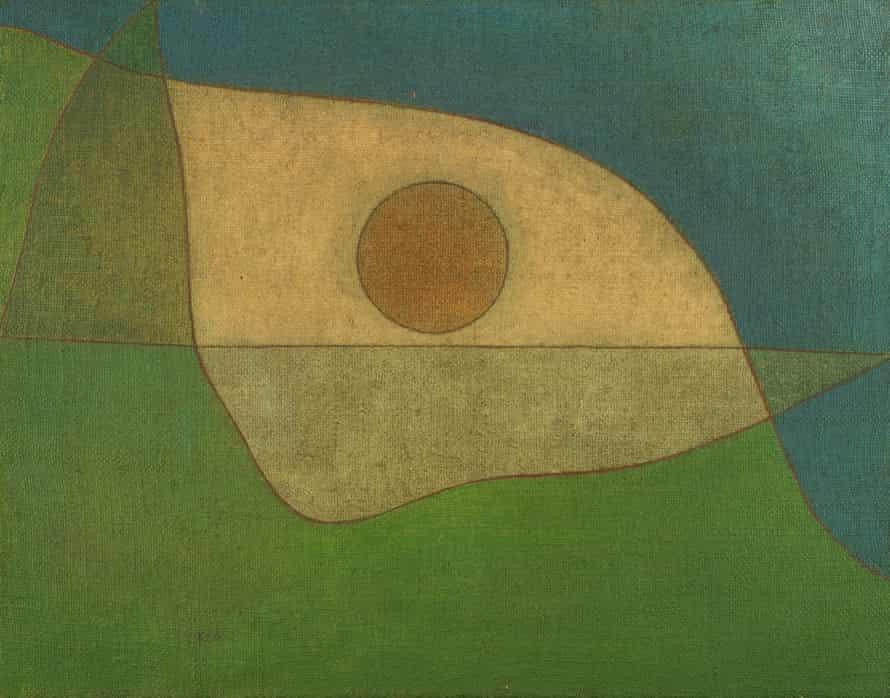 Gaze of Silence (1932) by Paul Klee.