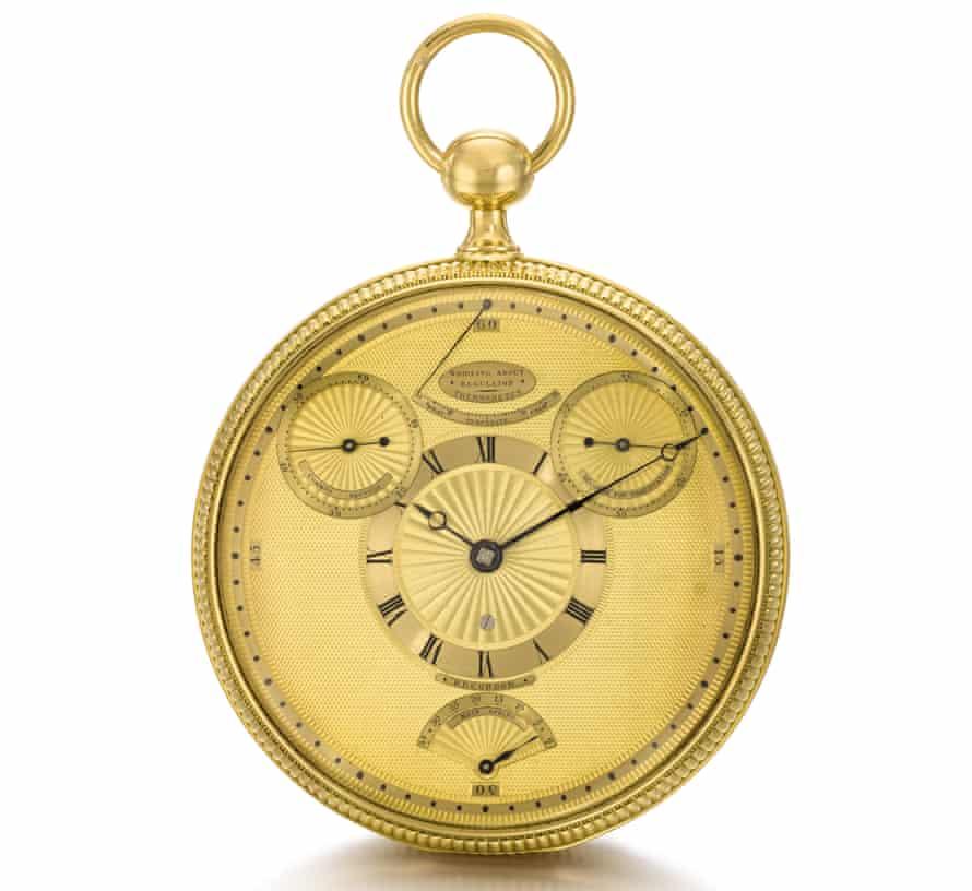 King George III's Breguet watch