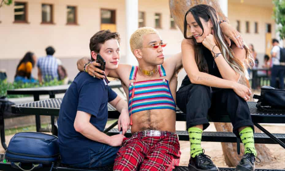 Uly Schlesinger, Justice Smith and Chase Sui Wonders in Generation