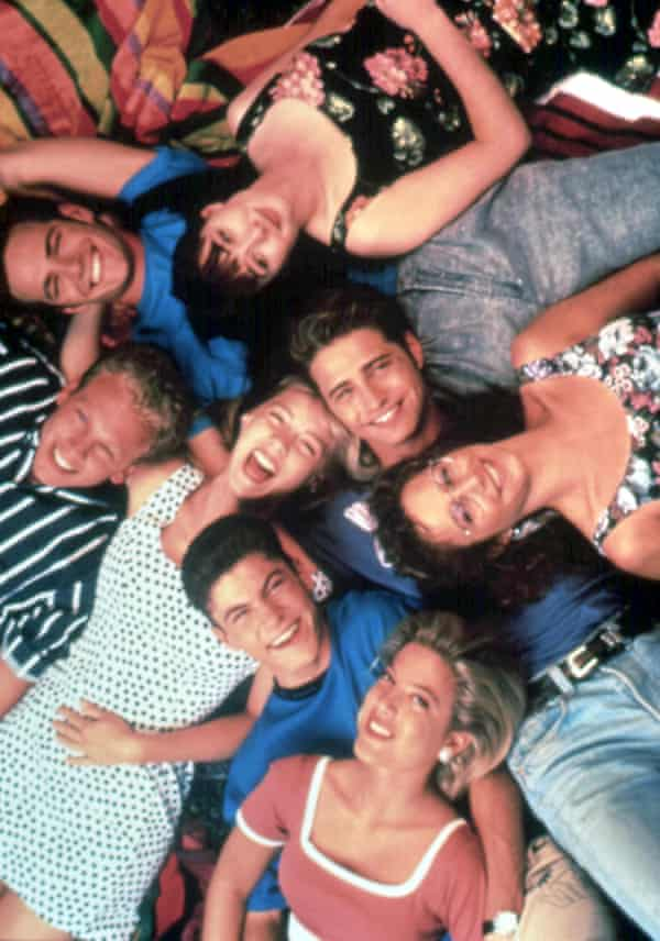 It turned our TV dreams from black and white to colour ... Beverly Hills 90210.
