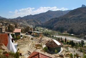 Colibri Camping, near La Paz.