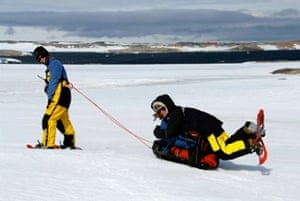 Antarctic walking