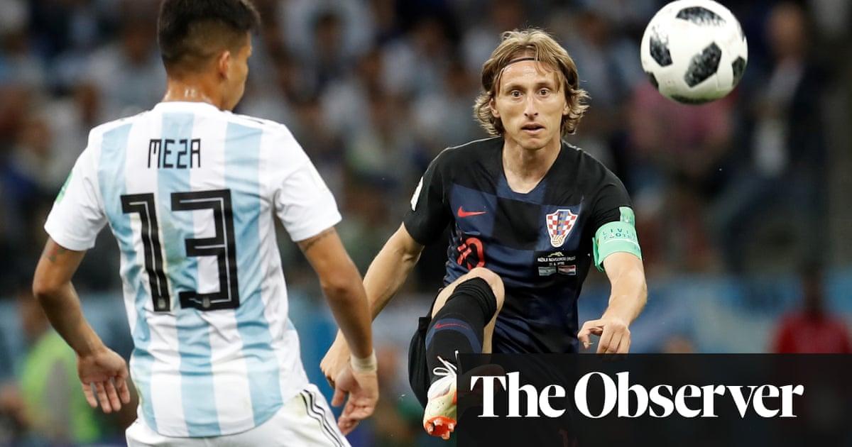 22368a6c7 Luka Modric  the unassuming genius driving Croatia s tilt at the World Cup