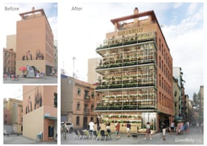 GreenBelly vertical urban garden – fundraising