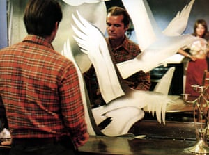 Jack Nicholson in The Passenger.