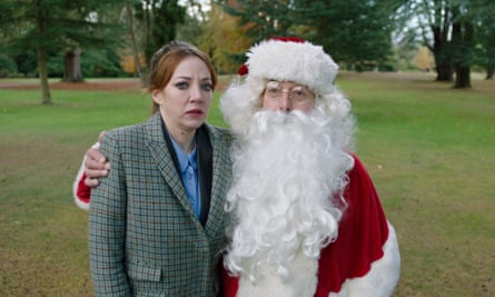 Philomena Cunk meets Santa in Cunk on Christmas.