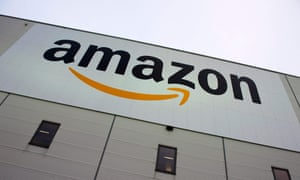 Amazon's main warehouse in Berlin – the company posted the message on its German website.
