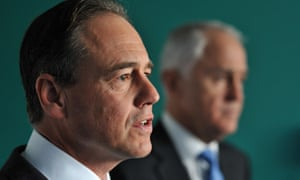 Greg Hunt and Malcolm Turnbull