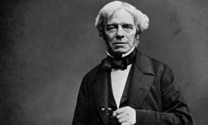 One of the most photographed, painted and sculpted figures of the time ... Michael Faraday.