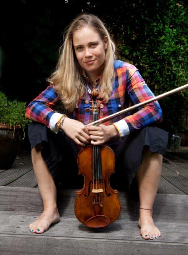 The violinist Leila Josefowicz.