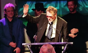 Ginger Bake at the eighth annual Rock and Roll Hall of Fame induction ceremony, 1993.