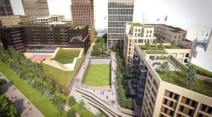 Artist impression of Legacy project