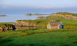The island of Ulva in the Hebrides.