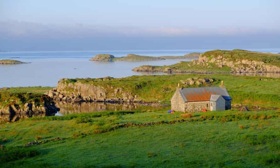 Ulva, just off the isle of Mull in Scotland