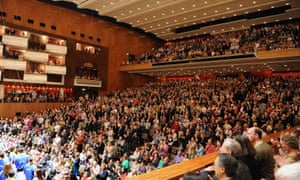No longer good enough? A full house on their feet to applaud a visiting orchestra at the Royal Festival Hall