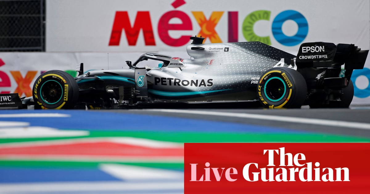F1: Lewis Hamilton goes for title at Mexico Grand Prix - live!