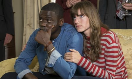 Get Out: Kaluuya as Chris with Allison Williams as girlfriend Rose.