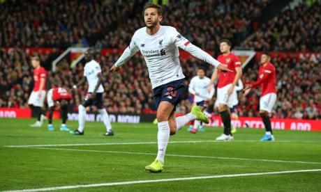 Manchester United 1-1 Liverpool: Premier League – as it happened