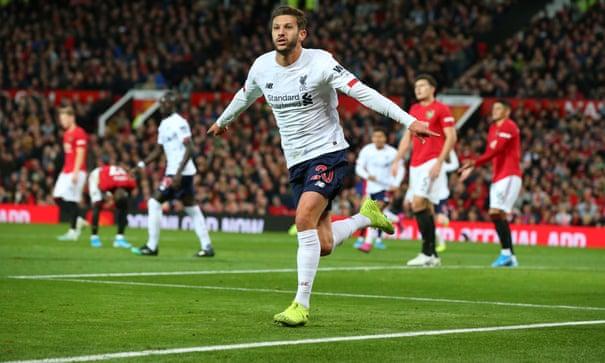 Manchester United 1-1 Liverpool: Premier League – as it happened | Premier League | The Guardian