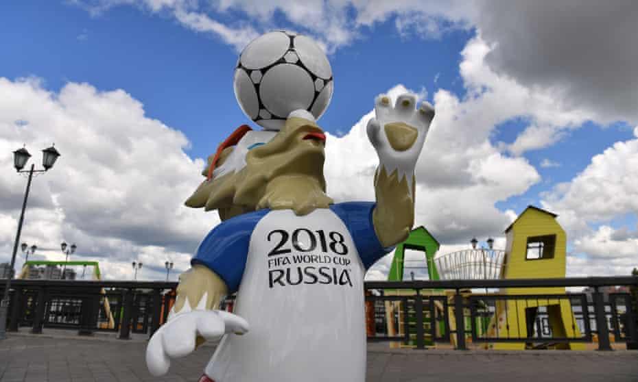 Zabivaka, Fifa's mascot for the 2018 World Cup
