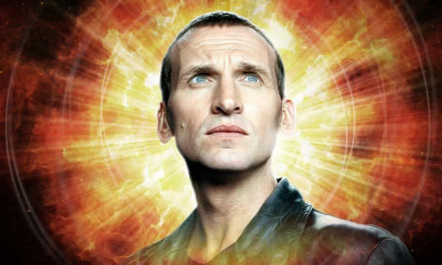 'A character I love playing' ... Christopher Eccleston will star again as Doctor Who in a series of audio adventures