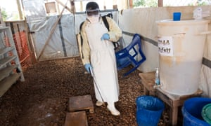 An Ebola treatment centre in Butembo, DRC