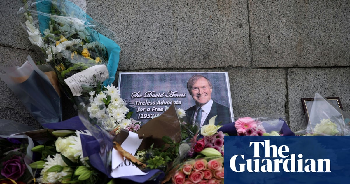 Man charged with murder of Tory MP David Amess
