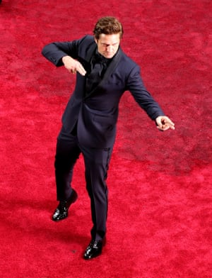 Gerard Butler arrives for the 92nd annual Academy Awards ceremony