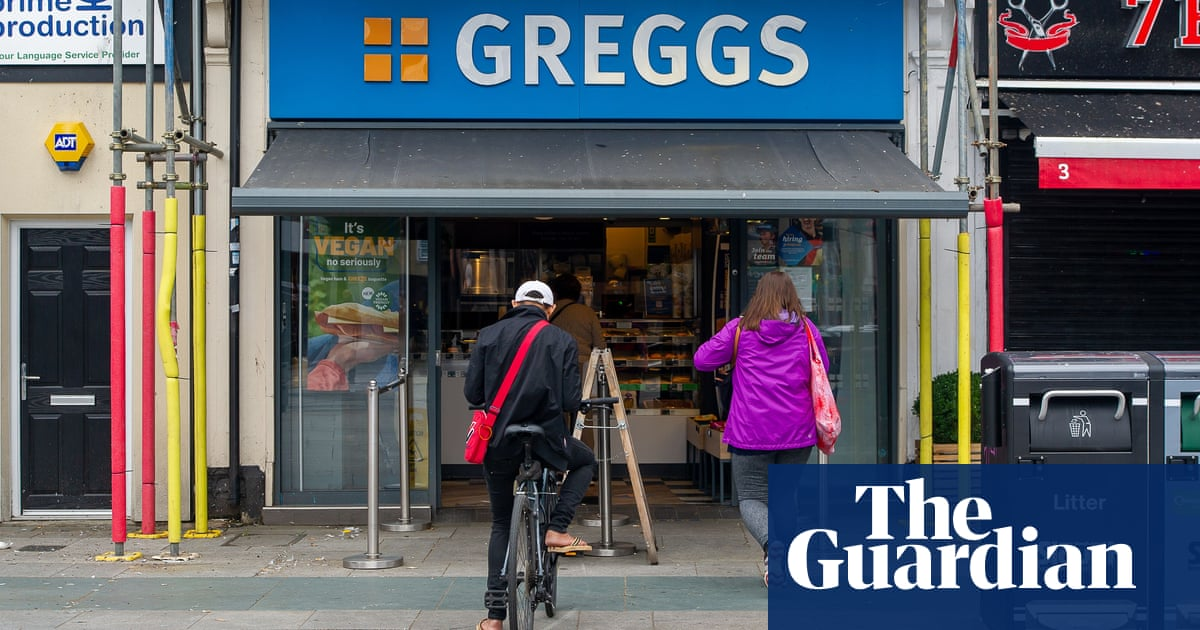Greggs warns of rising costs and shortages as it reports bigger sales