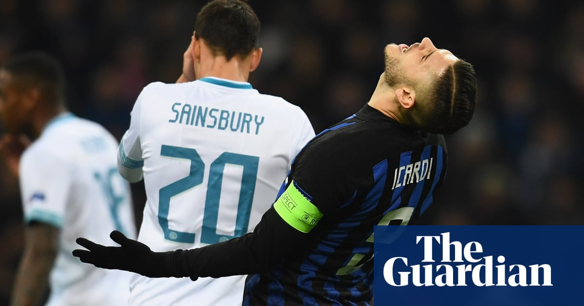 a85eda454 Champions League  Inter denied by PSV
