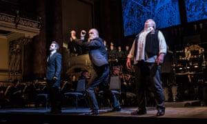 An Opera North performance of Wagner's Götterdämmerung in Leeds