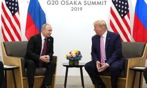 Vladimir Putin and Donald Trump at the G20 summit