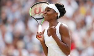 Wimbledon champion Venus Williams