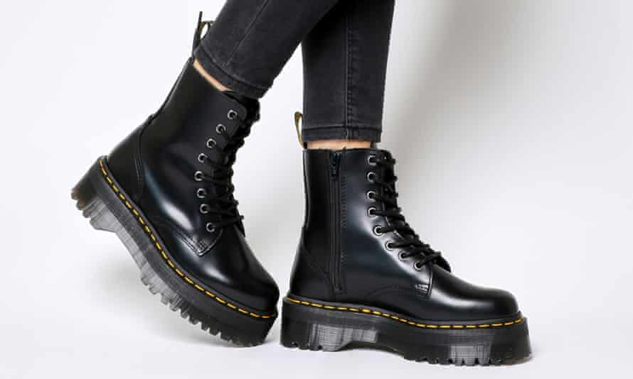 Dr. Martens costly Jadon boot which developed holes within six months.