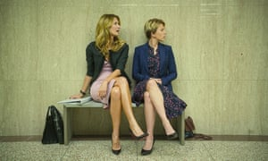Worthy winner: Laura Dern, left, and Scarlett Johansson in Marriage Story.