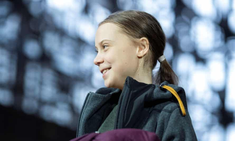 Greta Thunberg in Brussels last year. The activist urged leaders to act fast in testimony to Congress on Thursday.