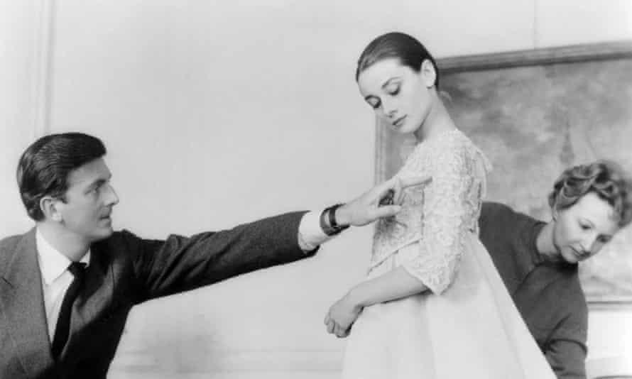 Hubert de Givenchy with Audrey Hepburn