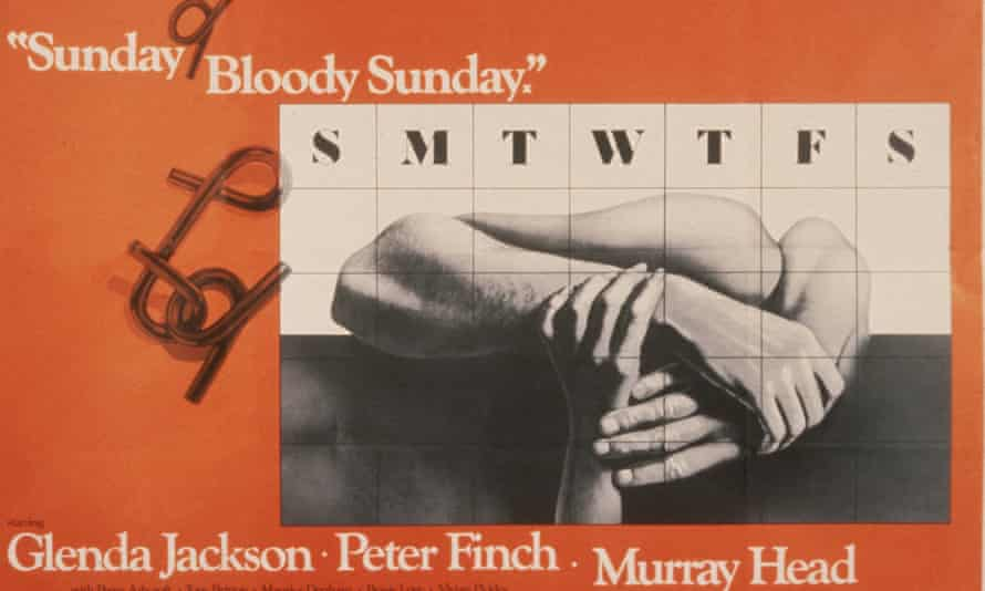 The poster for Sunday Bloody Sunday.